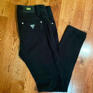 Guess Black stretch skinny jeans